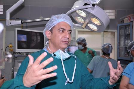 Workshop on Hysteroscopy by Bangalore Society of Obstestrics & Gynaecology