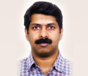 Dr Arun Nair, Consultant in pulmonary diseases, Narayana Hrudayalaya Hospital, Bangalore