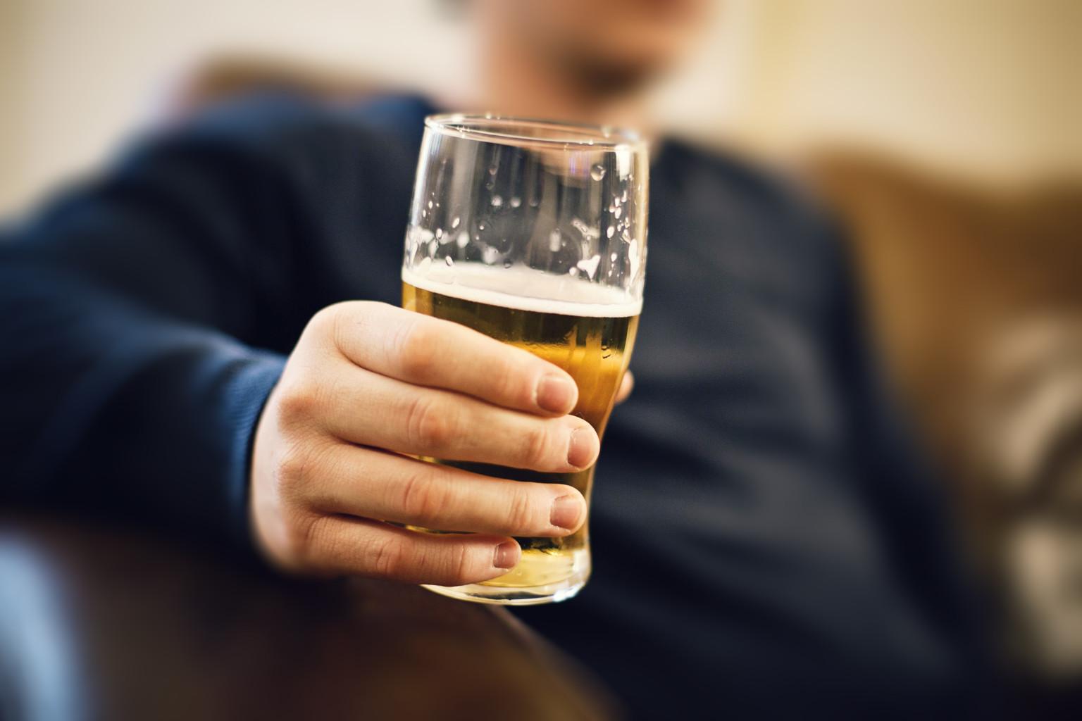 Dad's drinking habits may alter son's genes