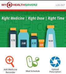 'MyHealthSaverz' Personal Medicine Reminder App