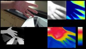 Multiple sensing capabilities of a prototype medical sensing device