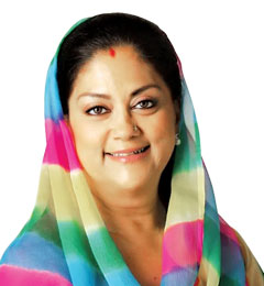 Vasundhara RajeHon'ble Chief Minister, Government of Rajasthan