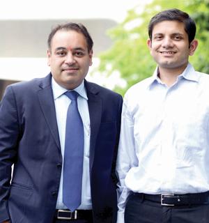 Dr Gaurav Thukral and Vivek Srivastav