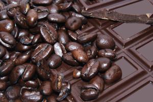 dark chocolate and beans