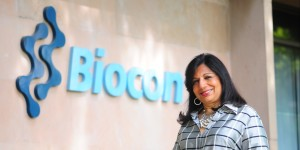 File Photo of Kiran Mazumdar Shaw, the chairman and managing director of Biocon Limited