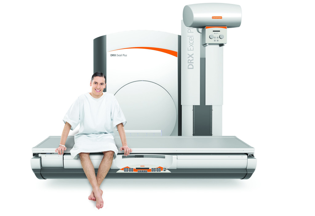 Carestream's DRX-Excel Plus Radiography/Fluoroscopy (R/F) System