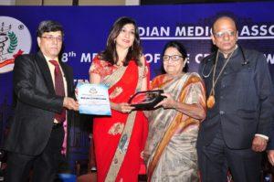 Indian Medical Association award