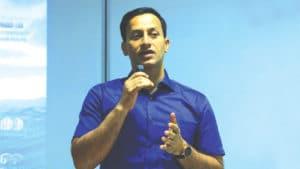 Pravin Kumar, DM, Visakhapatnam