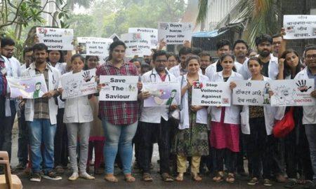 Hindu Rao Hospital doctors strike