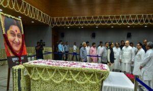 Sushma Swaraj dies