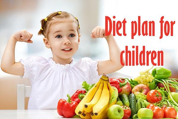 diet plan of children