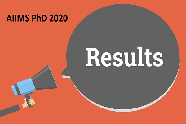 AIIMS PhD 2020