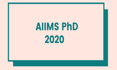 AIIMS PhD Result 2020