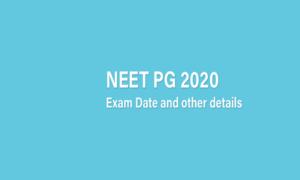 NEET PG result 2020