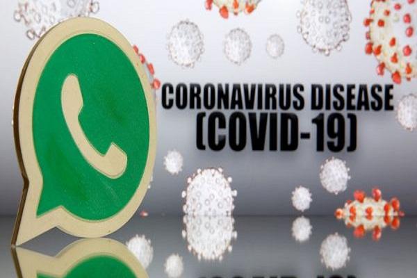 COVID-19 helpline on WhatsApp