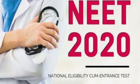 NEET 2020 application forms