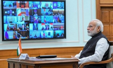 PM Modi holds video conference