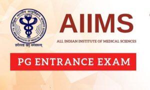 AIIMS PG 2020 entrance exams