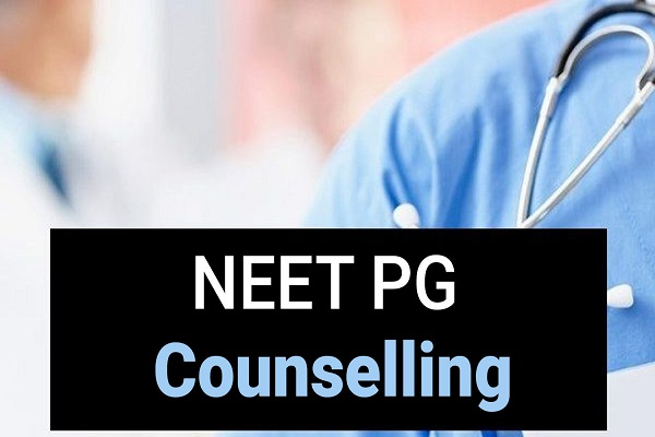 NEET PG 2020 counselling