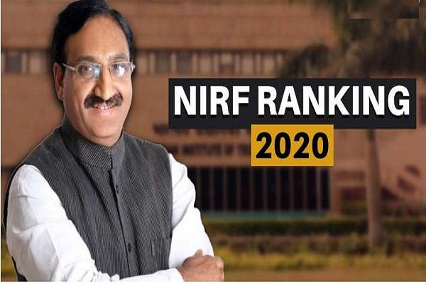 NIRF 2020 ranking