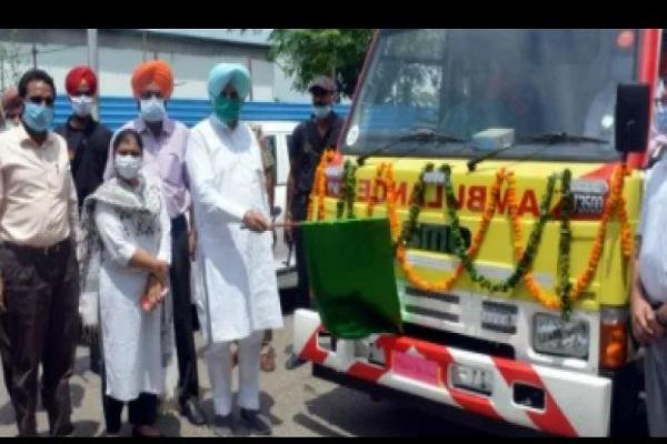 Punjab govt augments ambulances