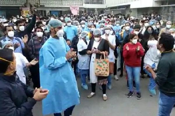 AIIMS nurses strike