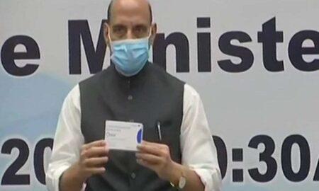 Rajnath Singh Launches DRDO's Anti-Covid 2-DG Drug