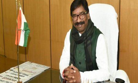 Jharkhand's CM Hemant Soren