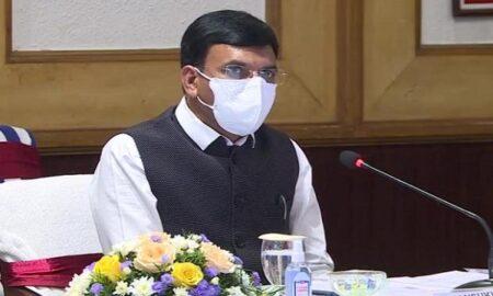 Health Minister Mansukh Mandaviya