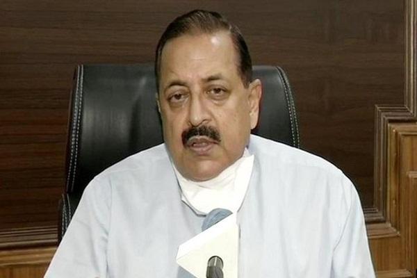 Union Minister Dr Jitendra Singh