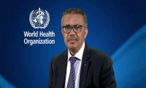 WHO Director-General Dr Tedros Adhanom Ghebreyesus